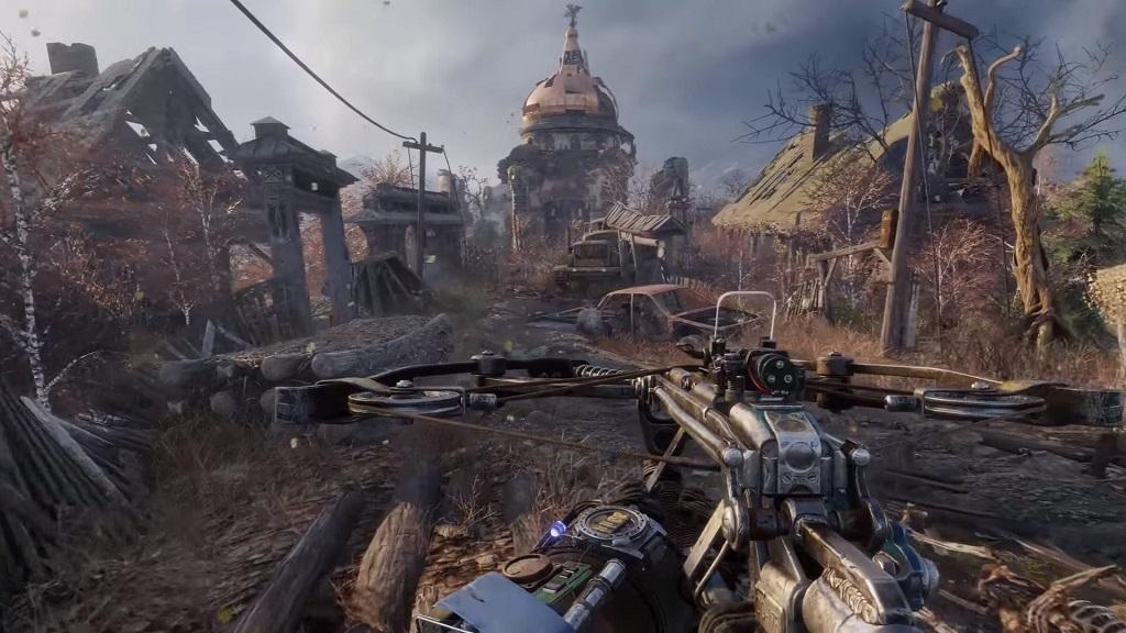 Metro Exodus; Gameplay: zbraň, kuša
