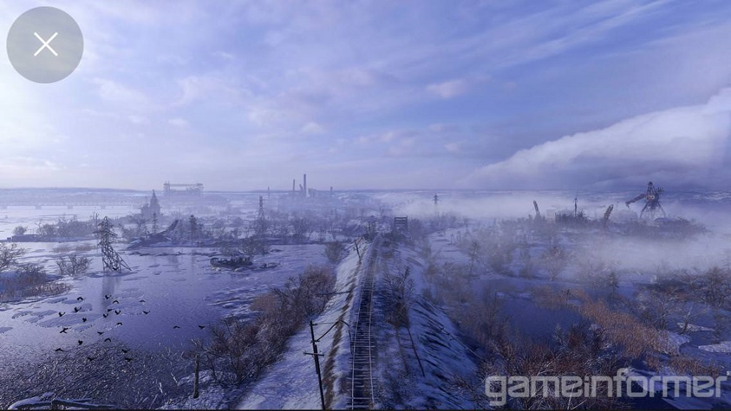 Metro Exodus; railroad