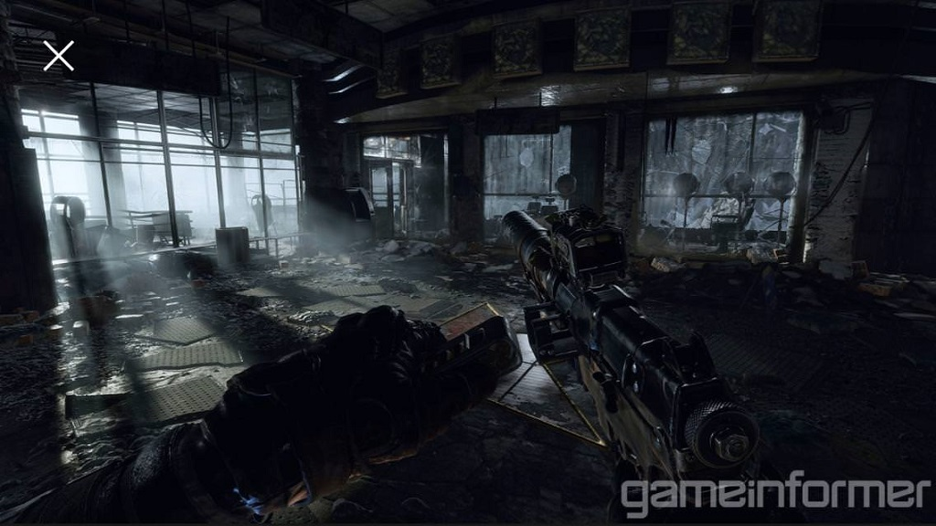 Metro Exodus; Reloading, gun