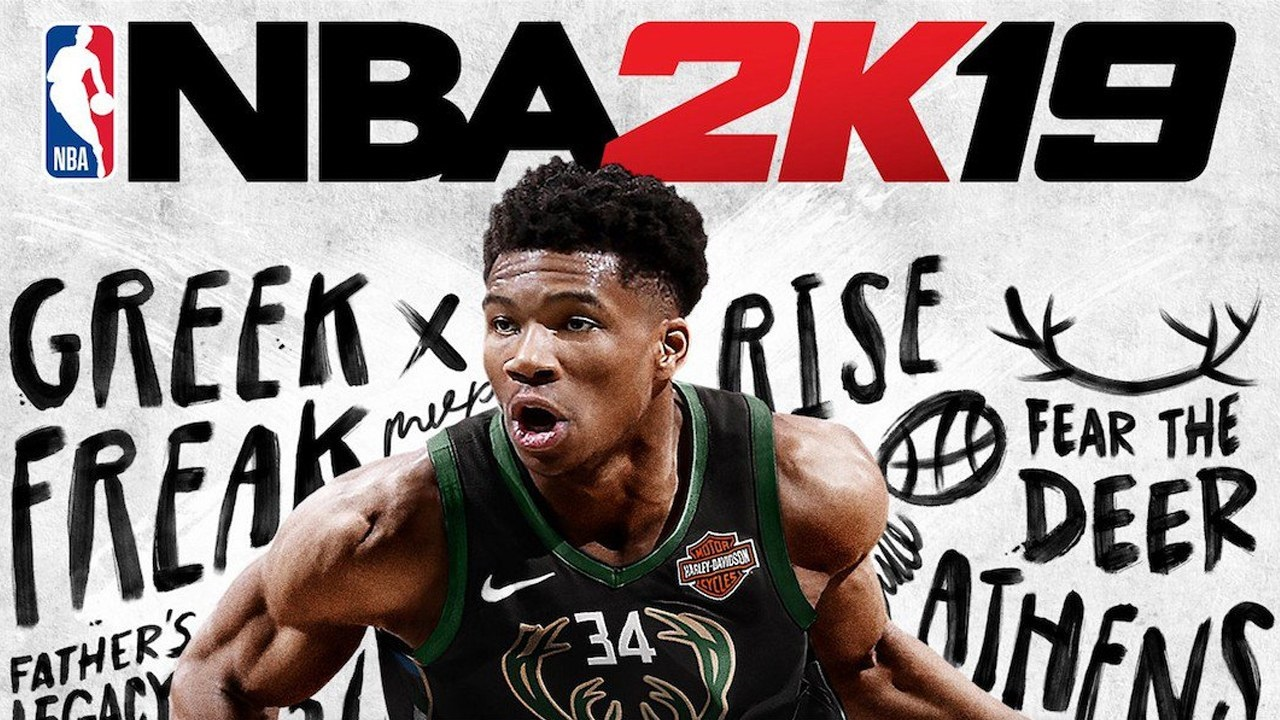 NBA 2K19; screenshot: cover