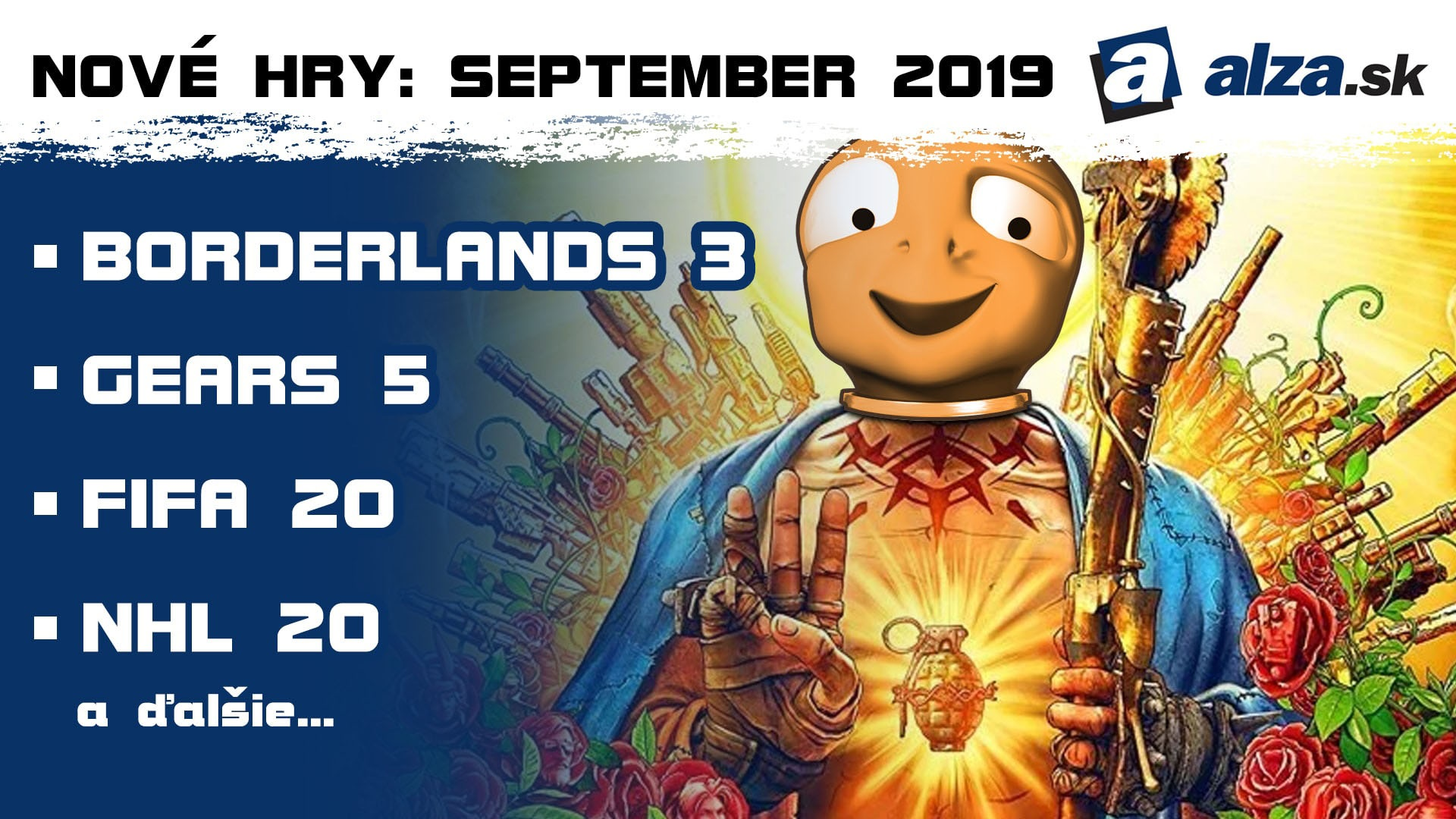 Nové hry: september 2019 – Borderlands 3
