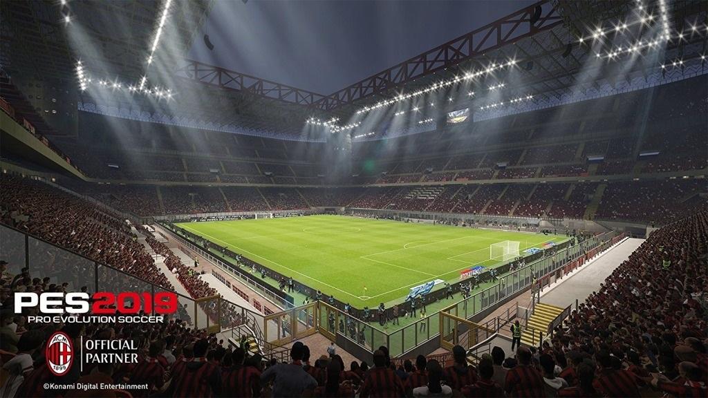 PES 2019; screenshot: atmosféra