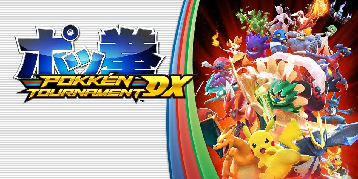 Pokken Tournament DX; label