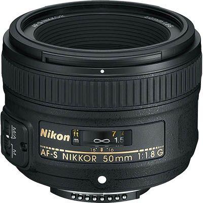Portrétový objektív Nikon Nikkor 50 mm