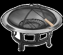 Přenosný malý gril na dřevěné uhlí