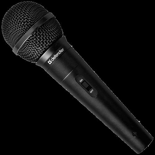 ručný mikrofón