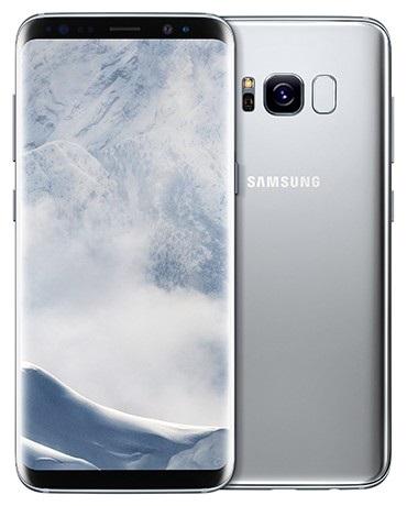 Samsung Galaxy S8 - strieborná farba