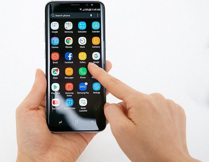 Samsung Galaxy S8 - prostredie