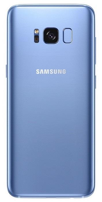 Samsung Galaxy S8 - zadná strana