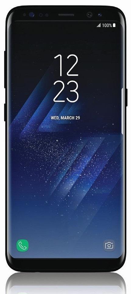 Samsung Galaxy S8 - predná strana
