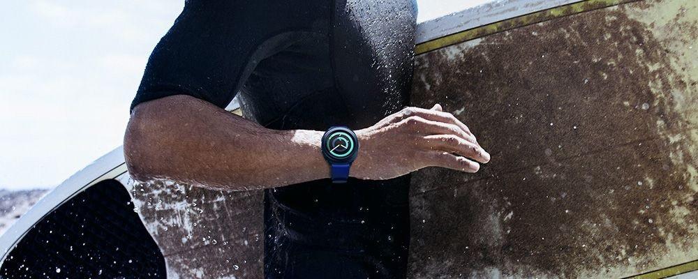 Samsung Gear Sport, surfovanie