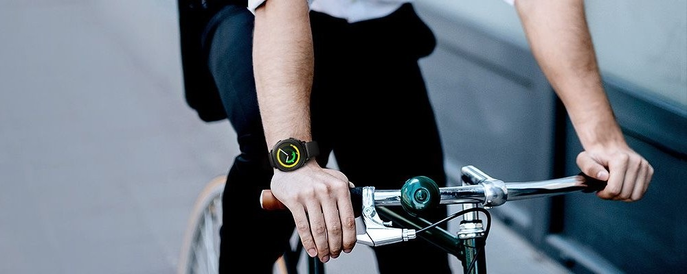Samsung Gear Sport, bicykel
