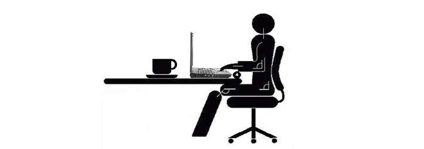 Správne, ergonomické sedenie