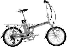 Skladací elektrobicykel