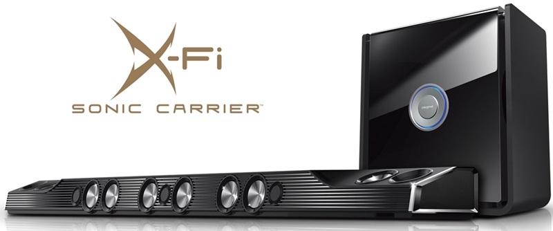 Creative X-Fi Sonic Carrier podporuje Dolby Atmos