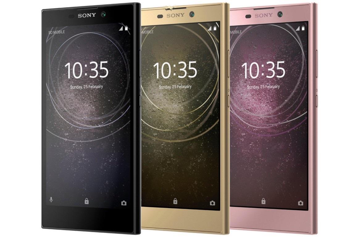 Sony Xperia L2; CES 2018