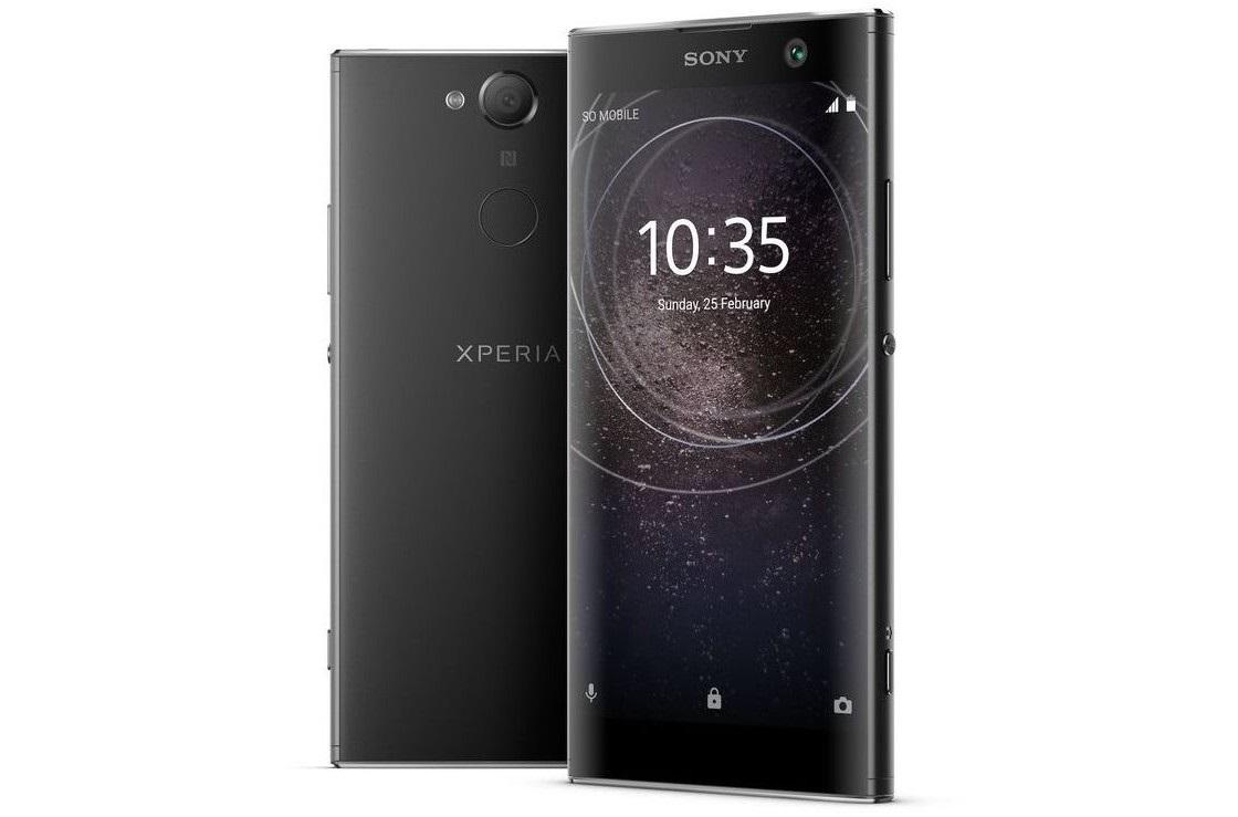 Sony Xperia XA2, čierna