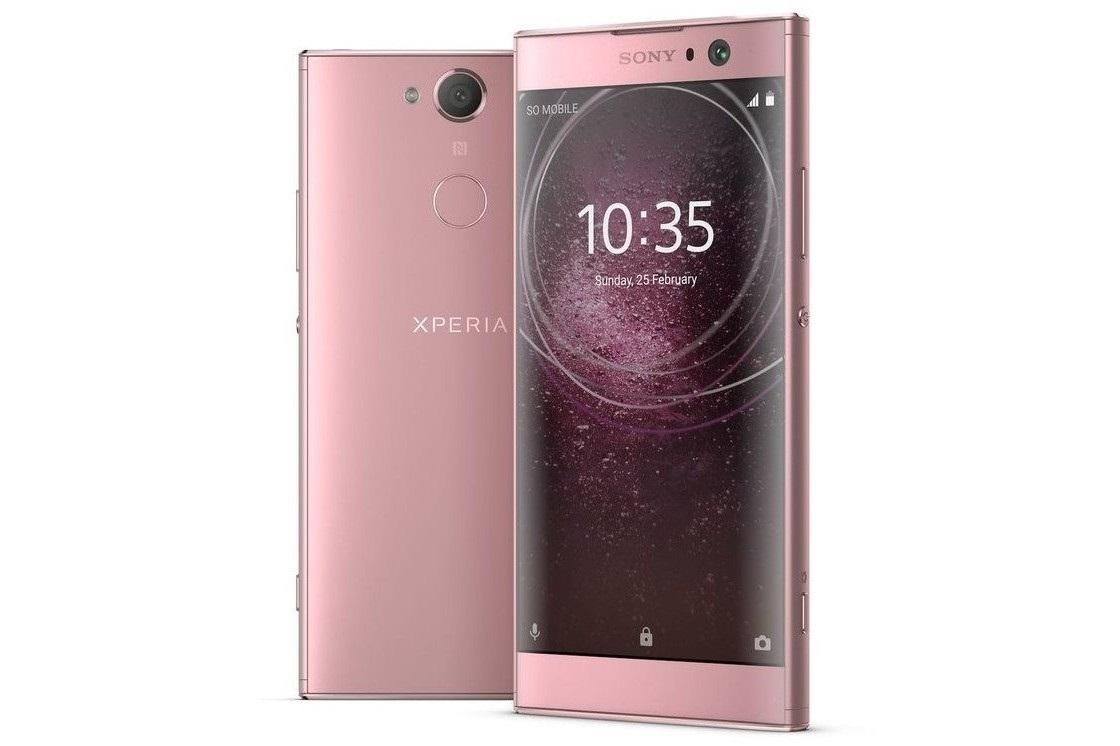 Sony Xperia XA2, ružová