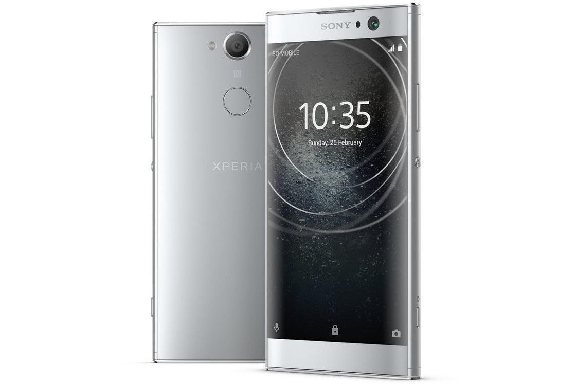 Sony Xperia XA2, strieborná