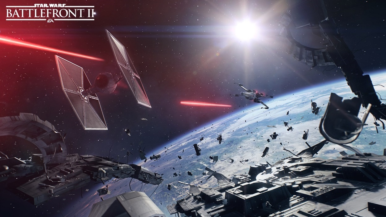 Star Wars Battlefront II; TIE fighter