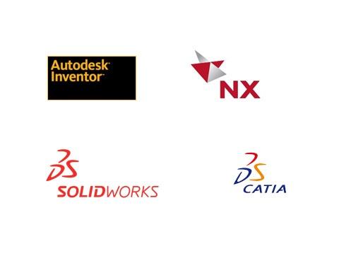 Podporovaný software z oblasti strojírenství