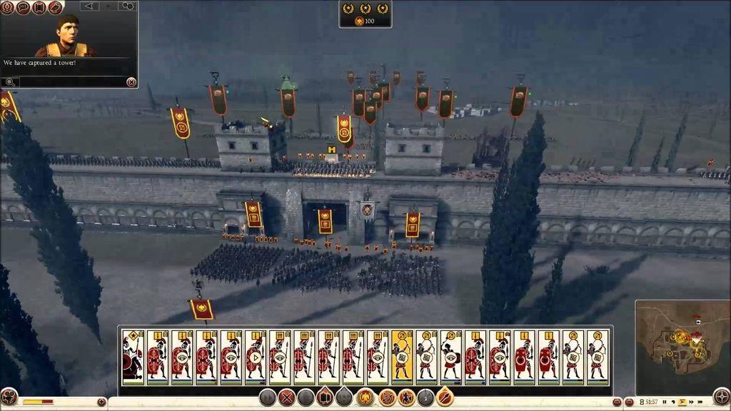 Total War; Rome 2 – Gameplay: obliehanie