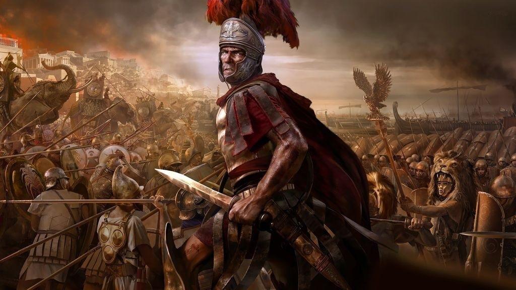 Total War; Rome 2 – Wallpaper: bitka, armáda, hrdina