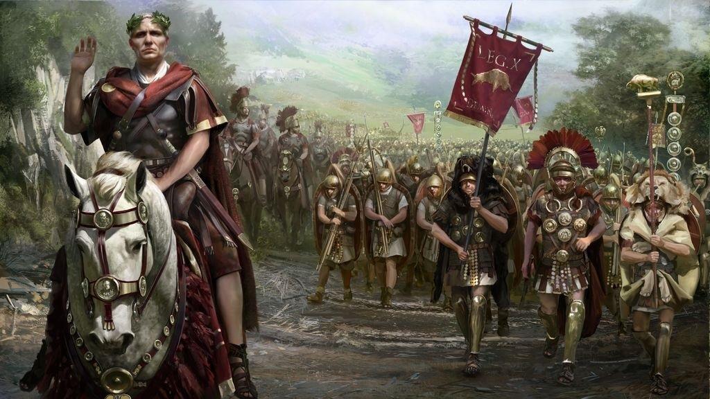 Total War; Rome 2 – Wallpaper: armáda, Caesar
