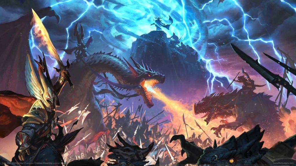 Total War; Warhammer 2 – Wallpaper: bitka