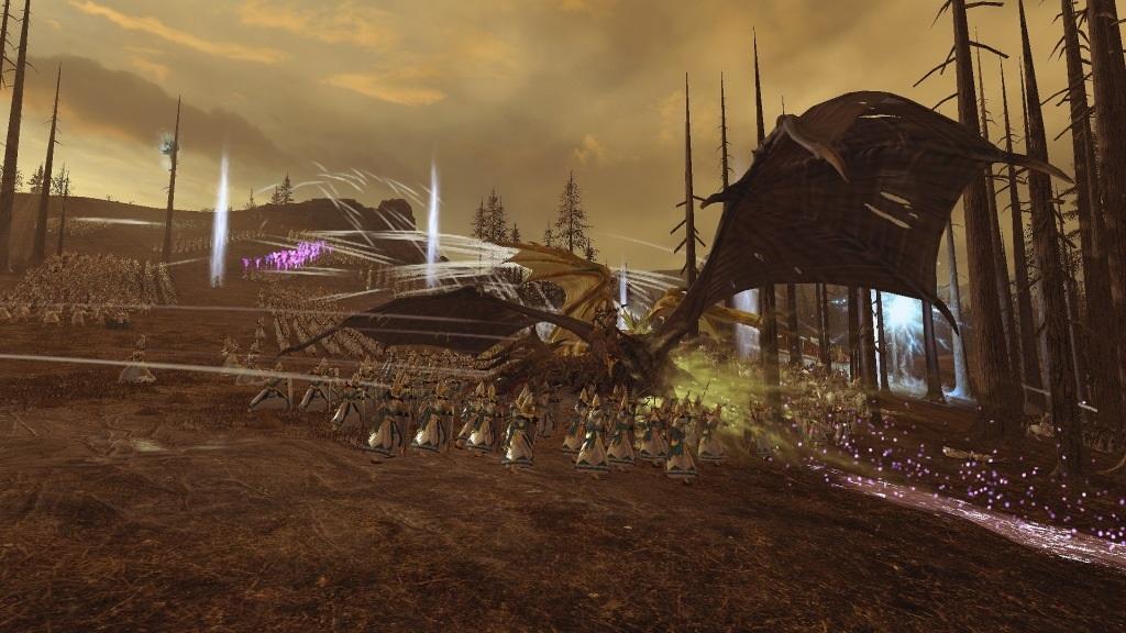 Total War: Warhammer 2; Gameplay: Černý drak