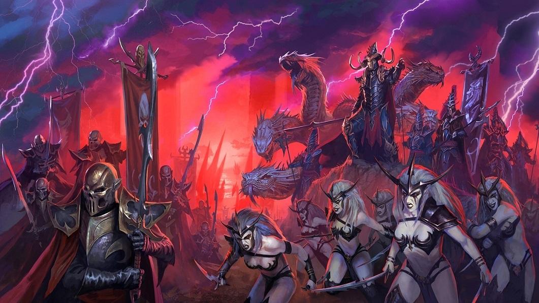 Total War Warhammer 2; dark elves