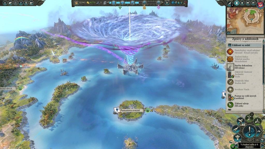 Total War: Warhammer 2; Gameplay: magický vír