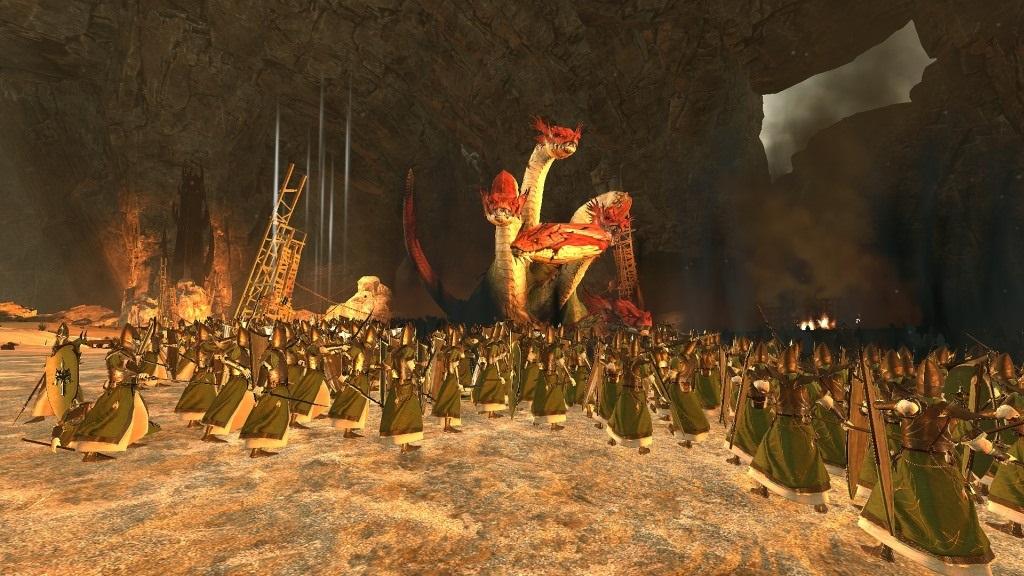 Total War: Warhammer 2; Gameplay: Majestátní Hydra