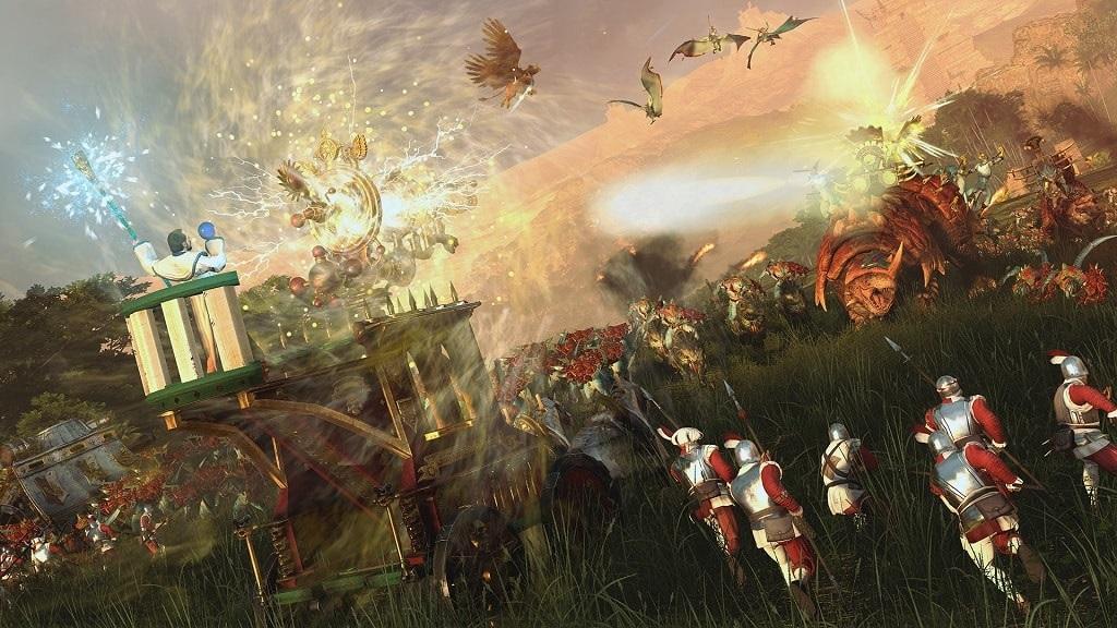 Total War: Warhammer 2; Mortal Empires, Ríša, Lizardmani