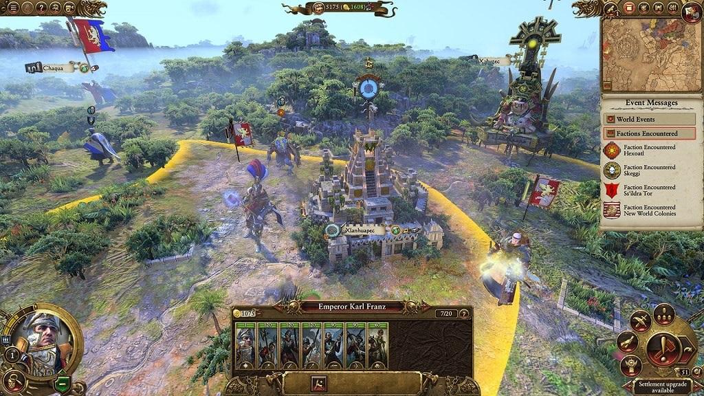 Total War: Warhammer 2; Mortal Empires, Karl Franz, Lizardmen