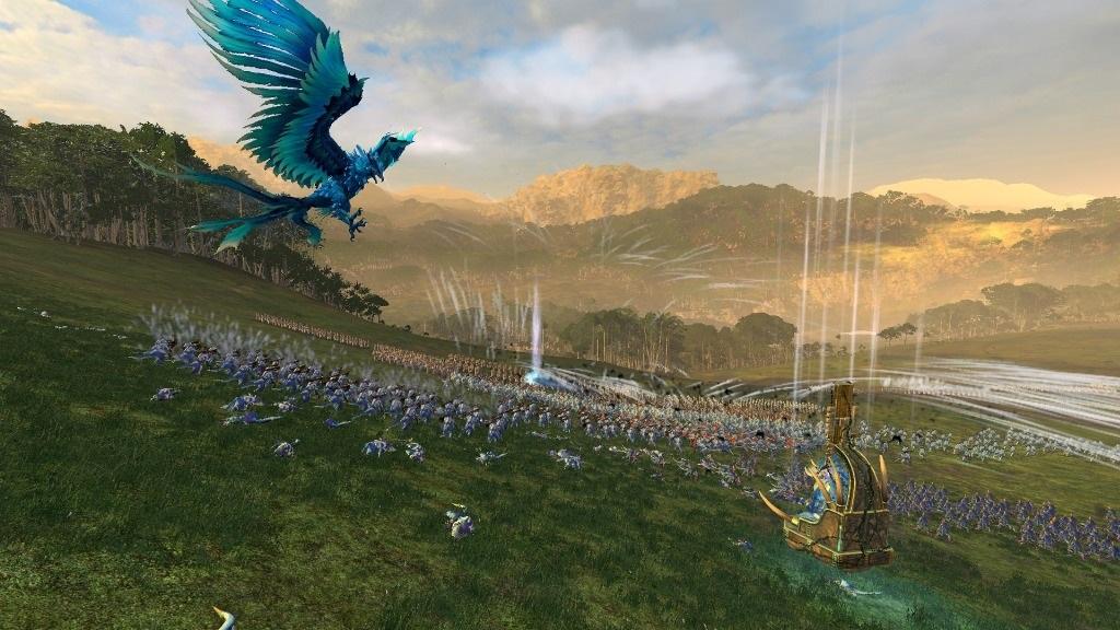 Total War: Warhammer2; Gameplay: Fénix útočí