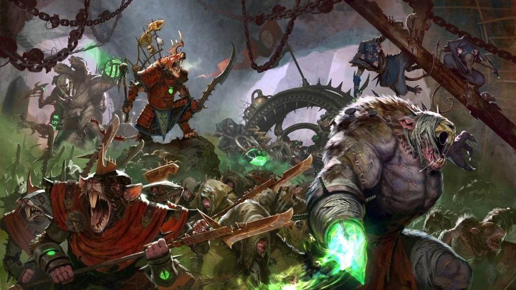 Total War: Warhammer 2; Wallpaper: Skaveni