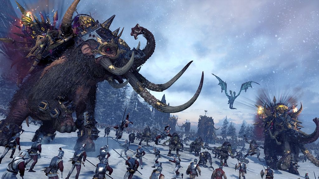 Total War; Warhammer Norsca: monštrum