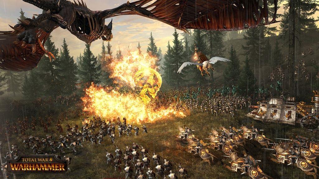 Total War; Warhammer – Wallpaper: bitka, jednotky, monštrá, kúzla