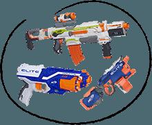 Nerf detské zbrane