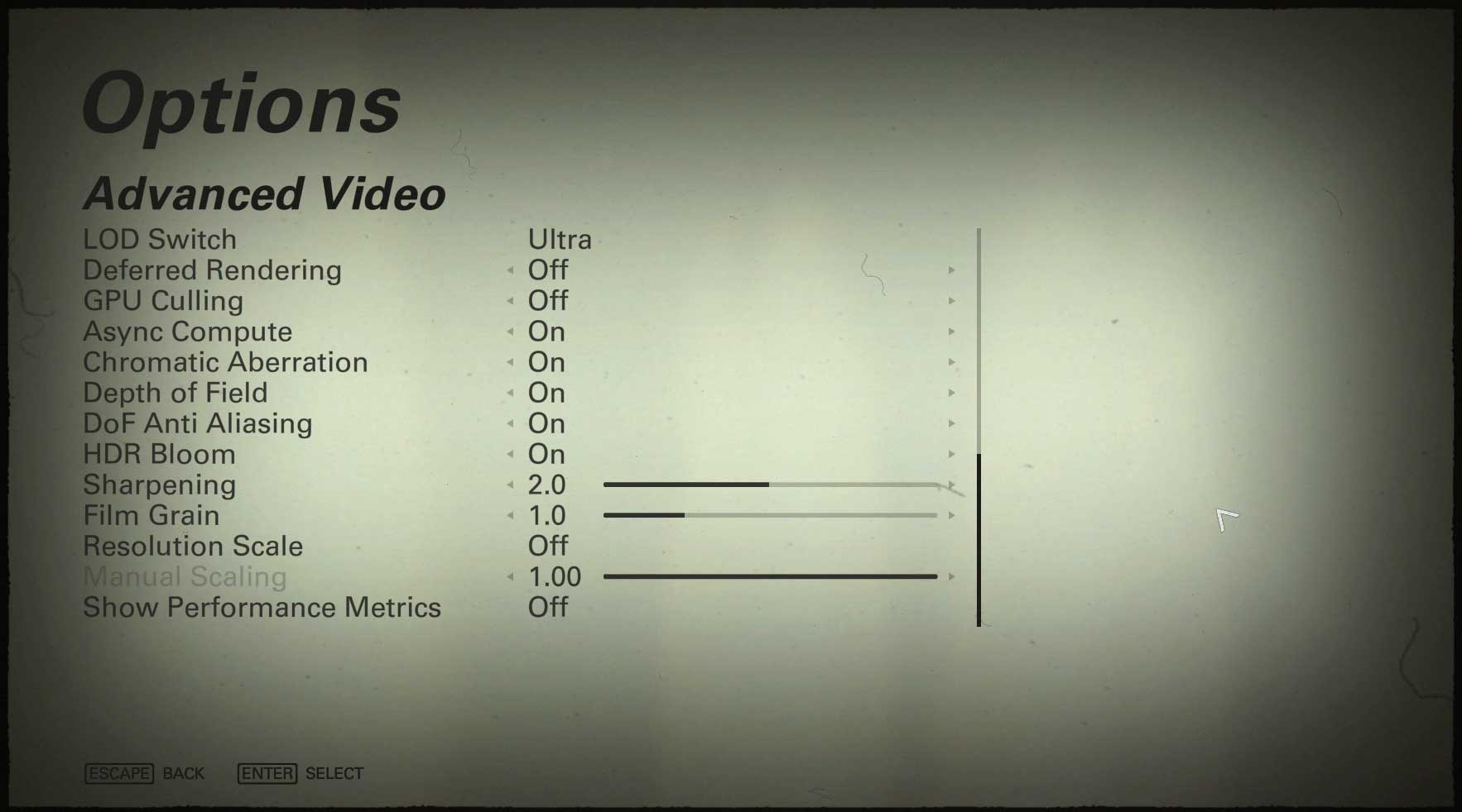 Wolfenstein II: The New Colossus nastavenia grafika 3