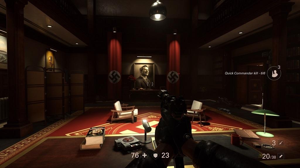 Wolfenstein 2: The Diaries of Agent Silent Death; Adolf