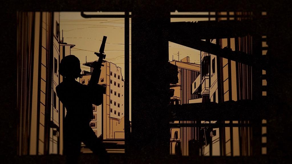 Wolfenstein 2: The Adventures of Gunslinger Joe; komiks, tichá, vrahyňa