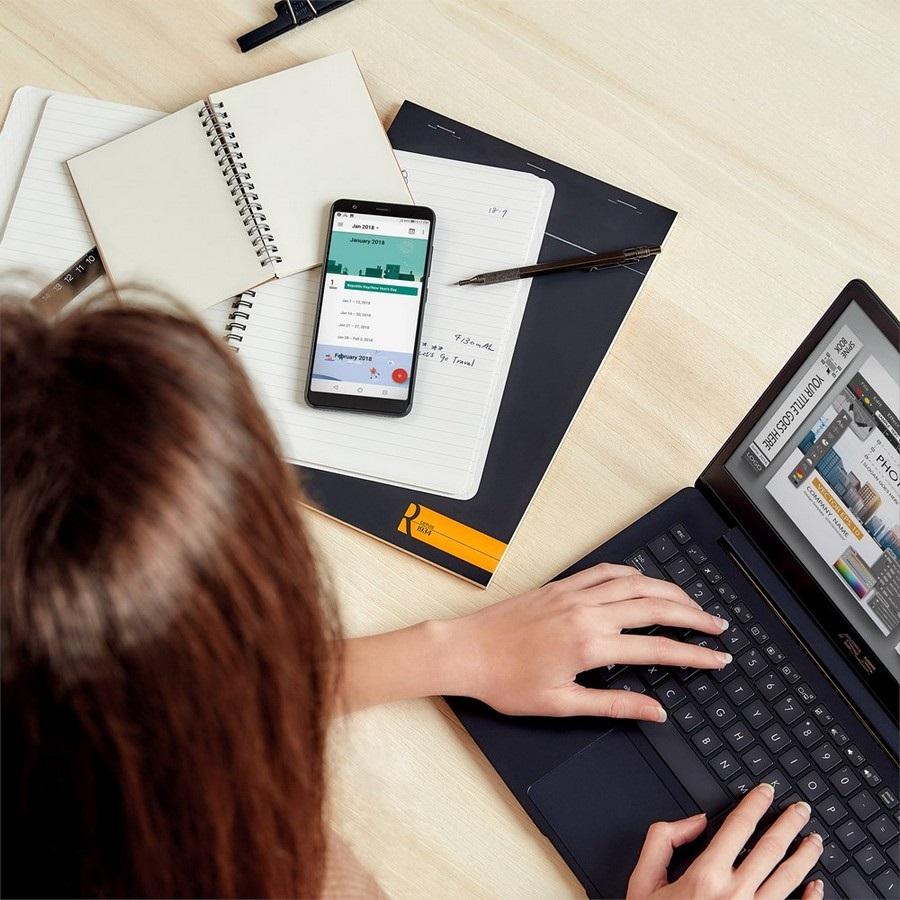 Asus ZenFone Max Plus (M1), práca