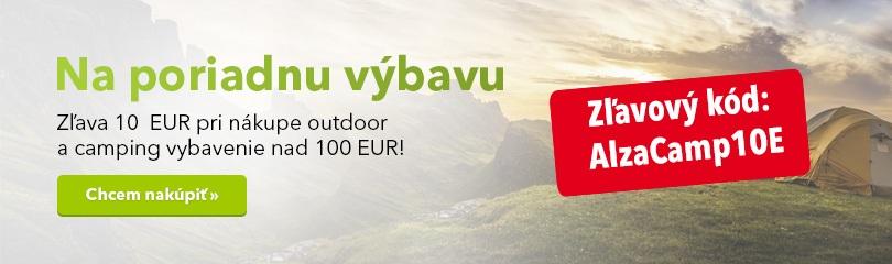 Camping a outdoor výbava so zľavou 10 Eur