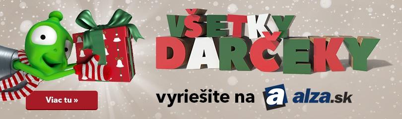 Všetky darčeky vyriešite na Alza.sk