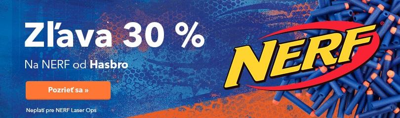 Zľava 30 % na NERF