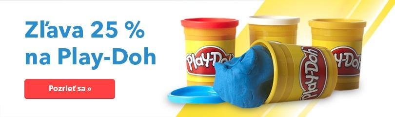 25 % zľava na Play-Doh