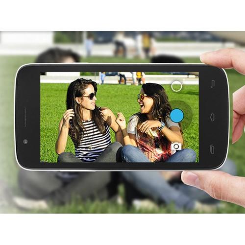 Prestigio MultiPhone 5453 DUO černý - fotoaparát