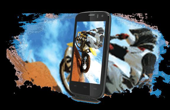 Prestigio MultiPhone 5453 DUO černý - displej